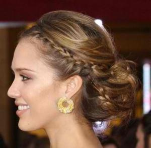 Marvelous Simple Elegant And Chic Bridal Hairstyles Short Hairstyles For Black Women Fulllsitofus